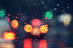 Happy Bokeh raining Day