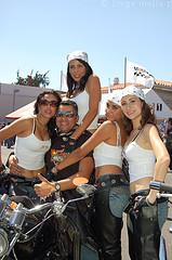 Isola Elba invasa dalle Harley Davidson per uno Spring Break
