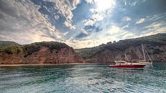 Isola Elba anchor bay
